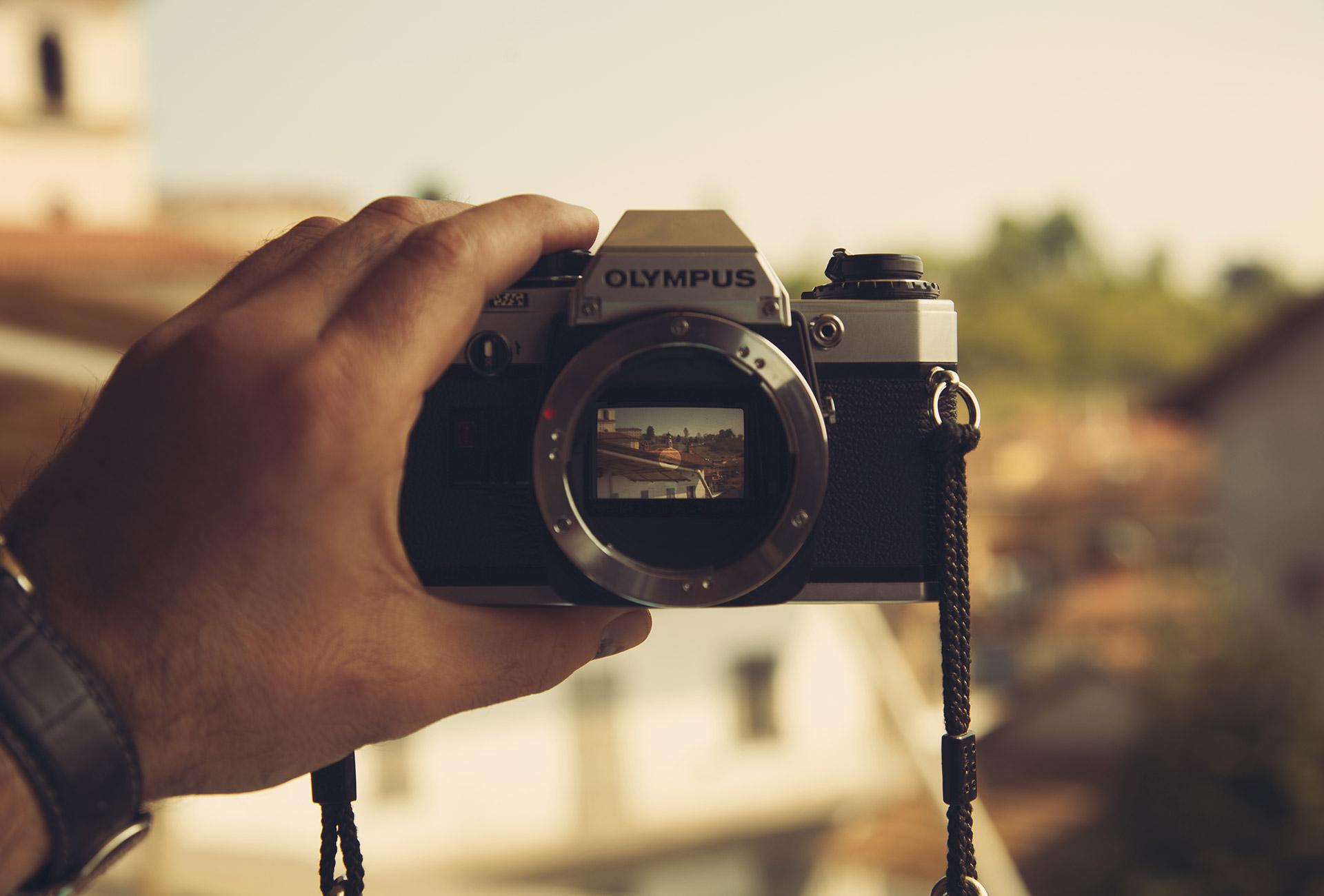взгляд через фотоаппарат цифровые способы